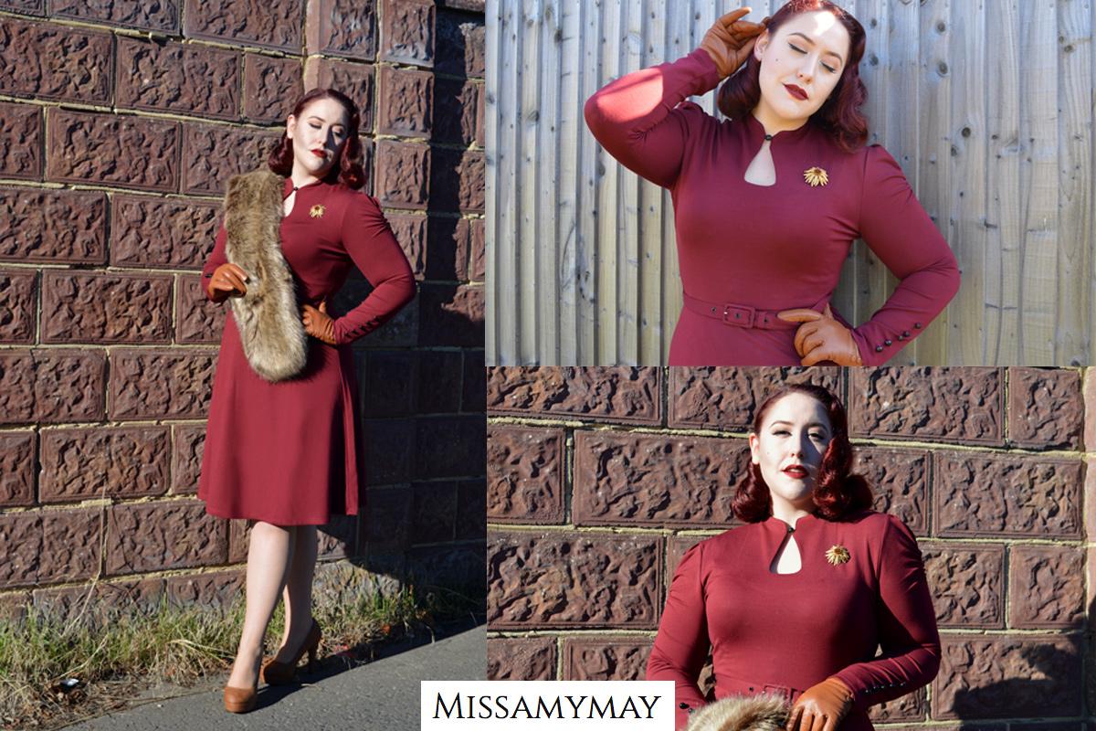 Amy May Voodoo Vixen Dita Dress