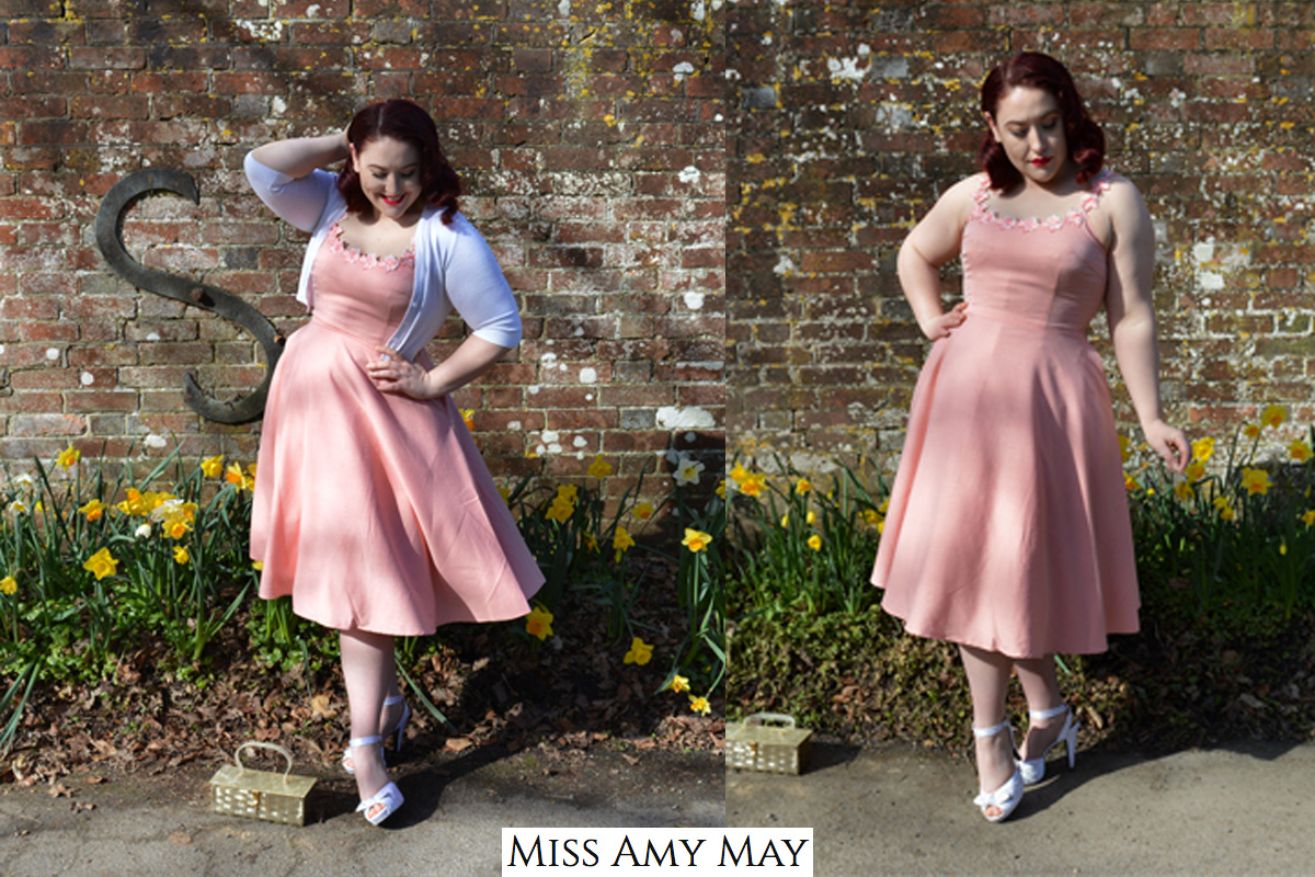 Amy May - Violet Dress by Voodoo Vixen