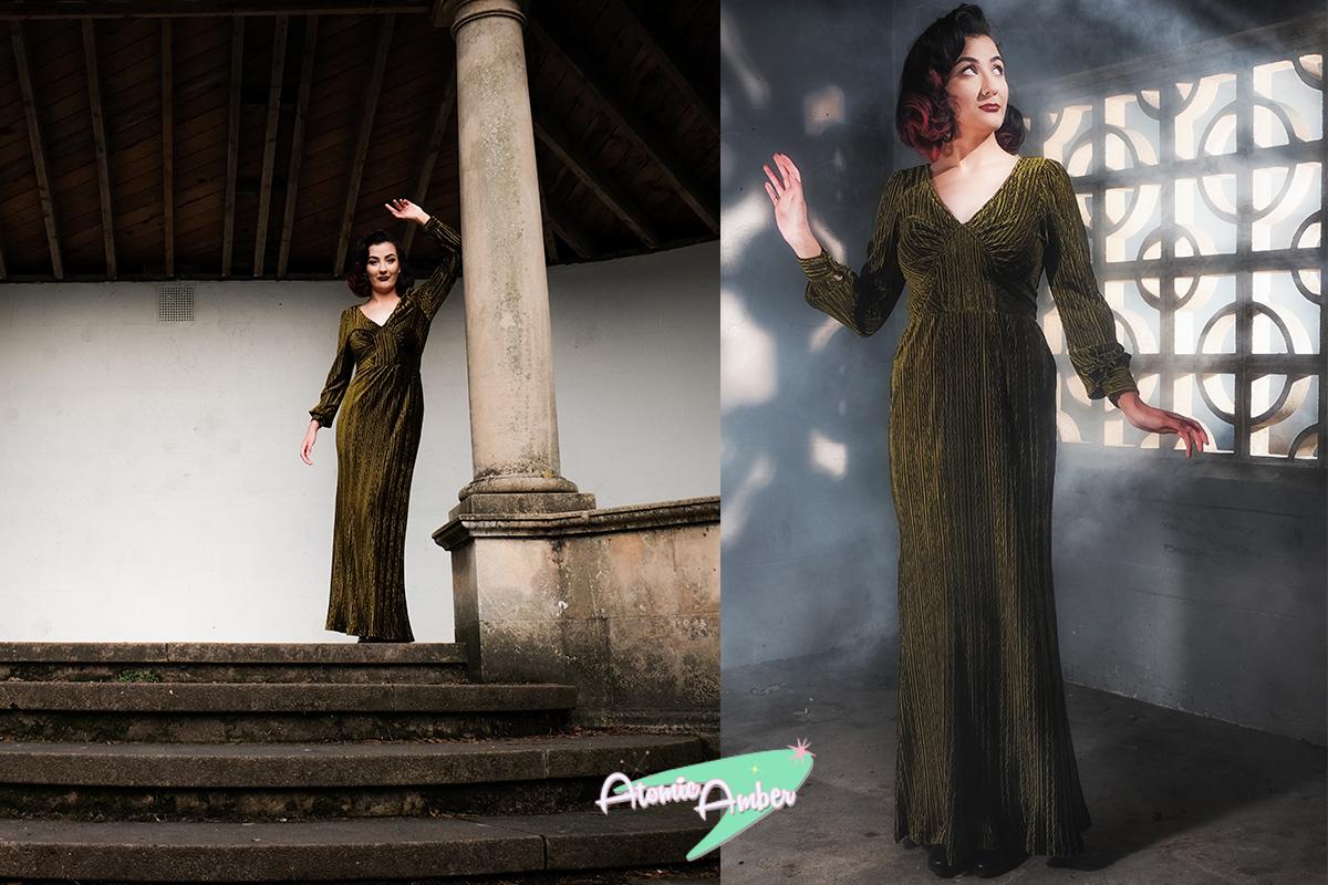 Atomic Amber Voodoo Vixen Dress