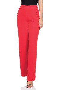 TEDDY - BUTTON FRONT TROUSERS