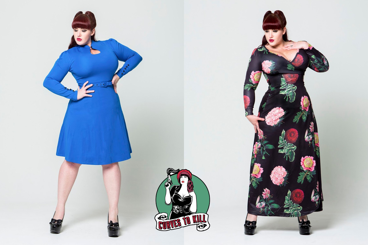 Curves to Kill - Dita Dress and Willow dress